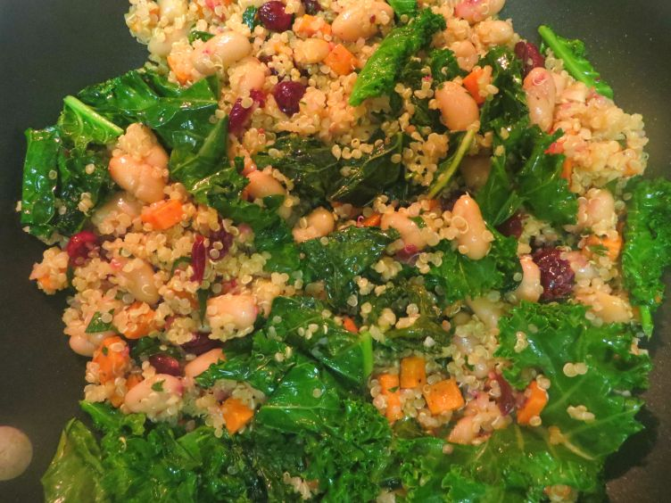 TUSCAN WINTER VEGETABLE QUINOA 1