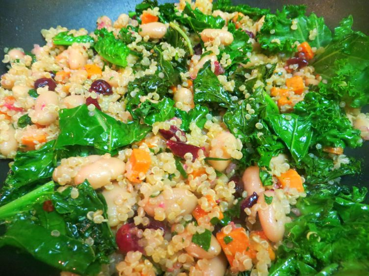 TUSCAN WINTER VEGETABLE QUINOA THREE