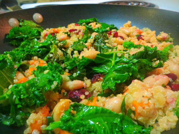 TUSCAN WINTER VEGETABLE QUINOA TWO